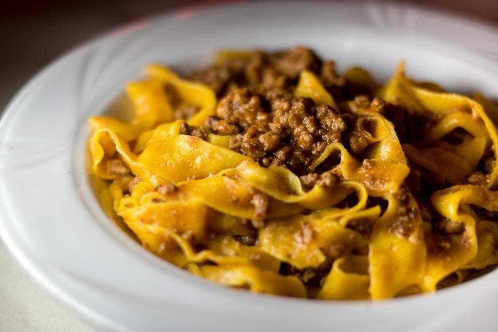 Trattoria del Rosso Pasta Dish - Emilia Romagna Food Experiences