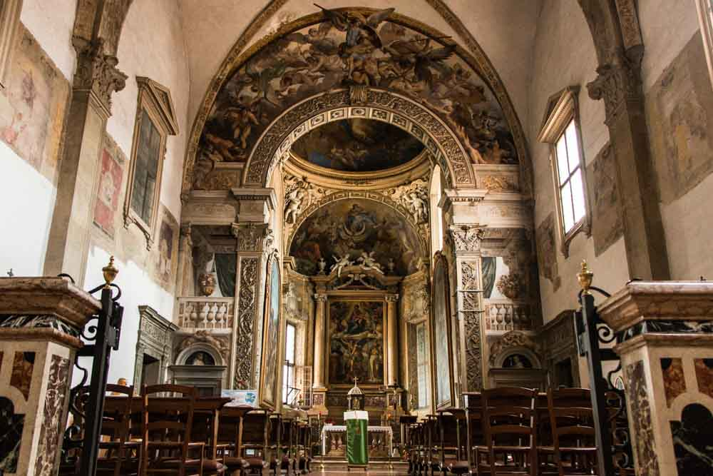 Church of San Michel in Bosco in Bologna Italy