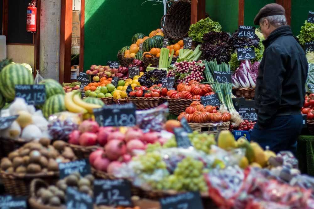 Produce at Borough Market - Best Food Markets in London