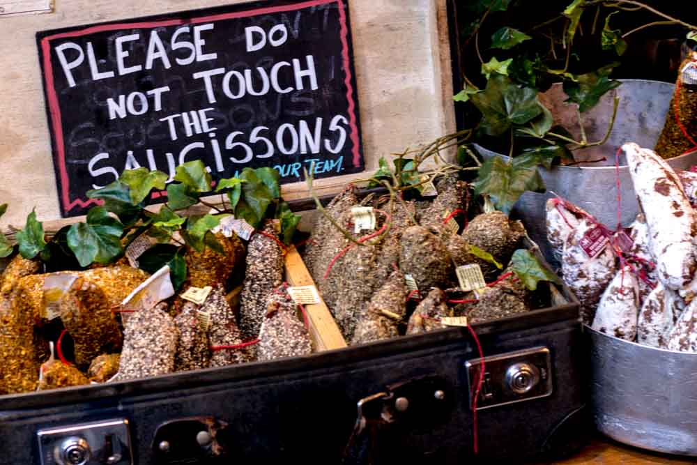 Sign at Borough Market - Best Food Markets in London