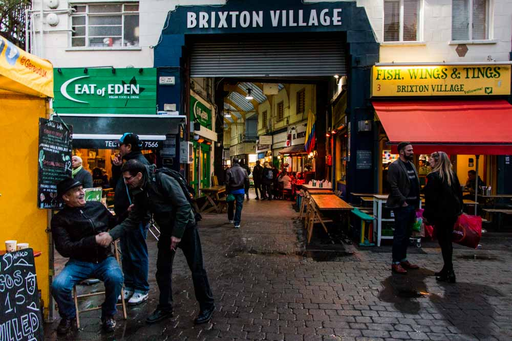 Brixton Village and Market Row Entrance - Best Food Markets in London