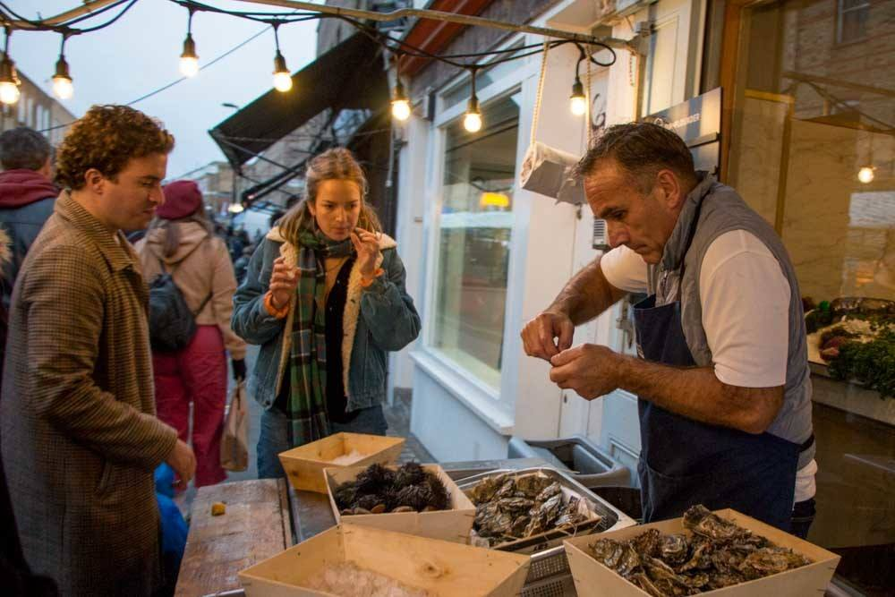 Fishmonger at Broadway Market - Best Food Markets in London