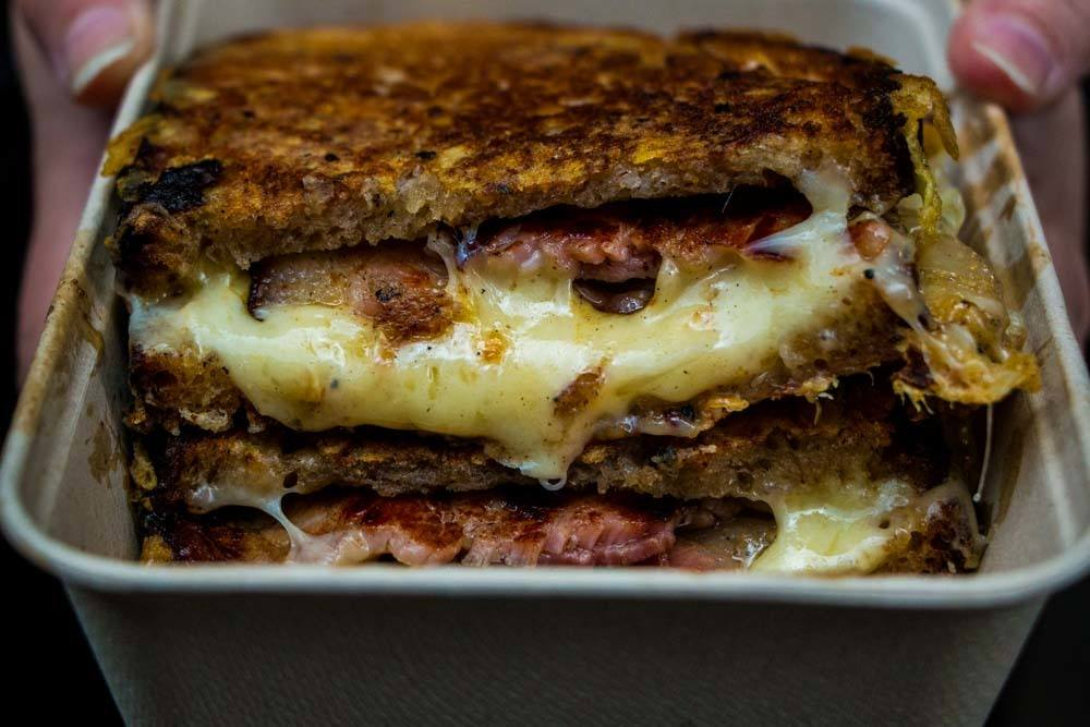 Grilled Cheese at Maltby Street Market - Best Food Markets in London