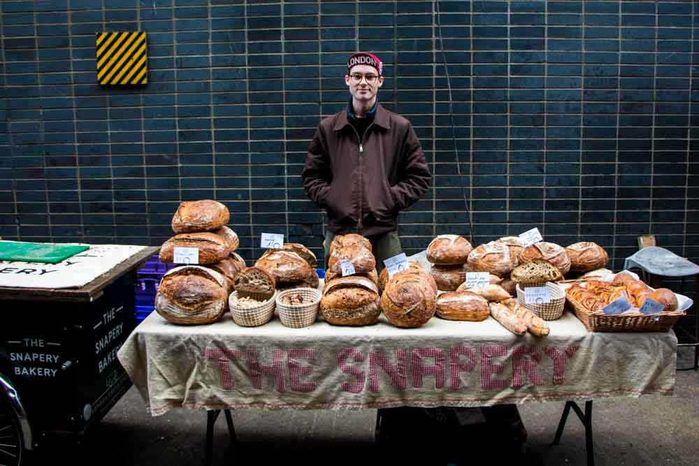 Vendor at Maltby Street Market - Best Food Markets in London