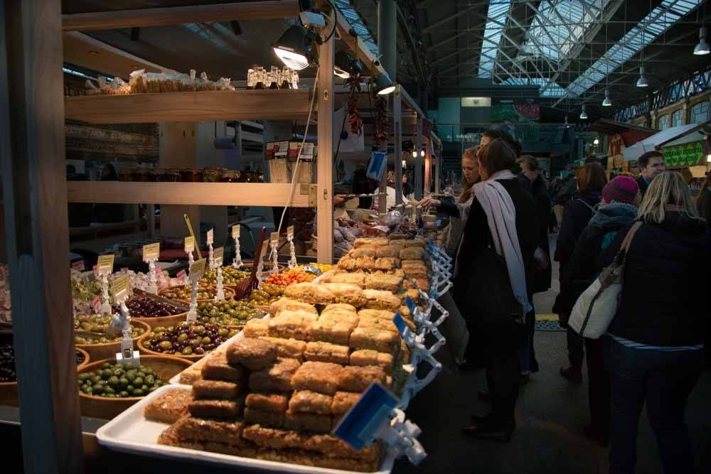 Old Spitalfields Market Food Stand - Best Food Markets in London