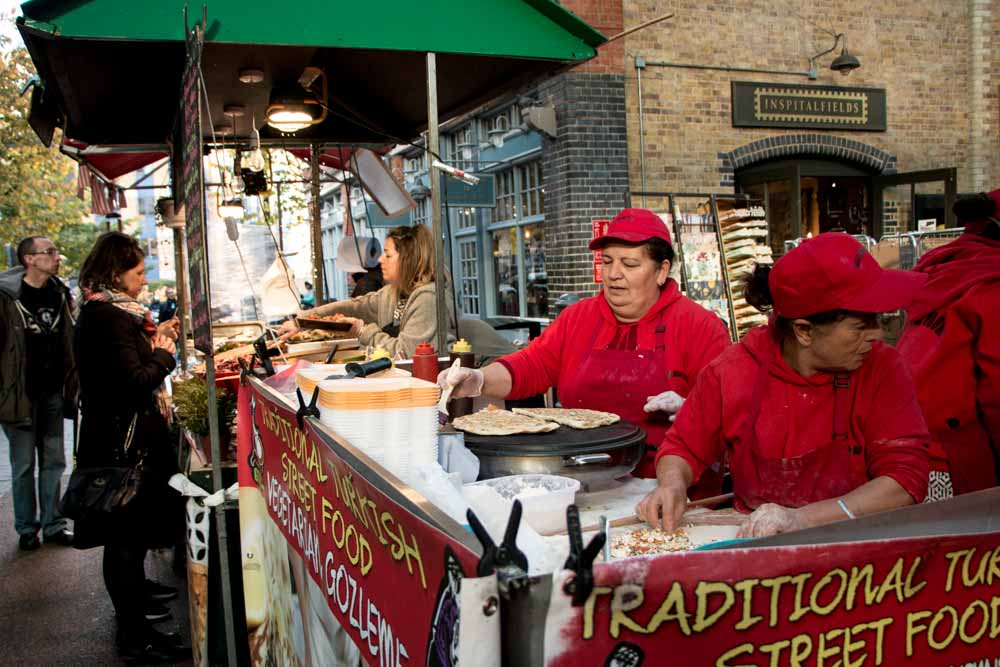 Old Spitalfields Market Vendors - Best Food Markets in London