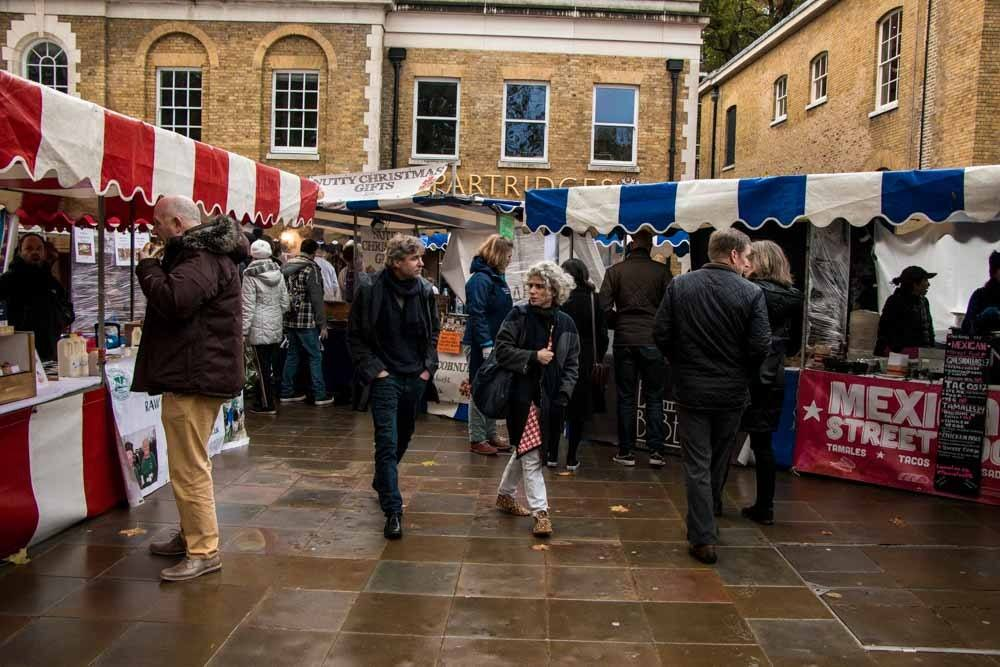 Partridges Market Stands - Best Food Markets in London