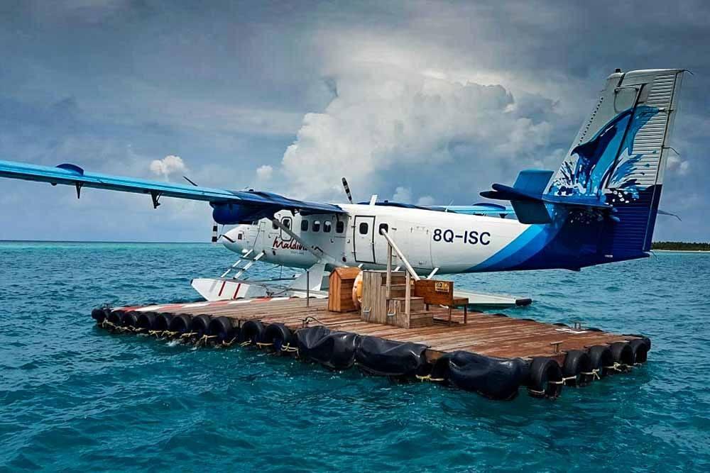 Seaplane - Kandima Maldives