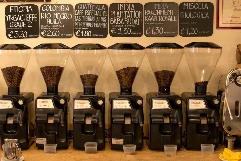 Caffè Terzi in Bologna Italy