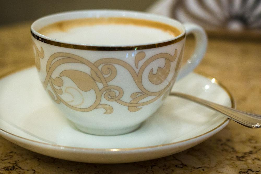 Cappuccino at Caffe Terzi in Bologna Italy
