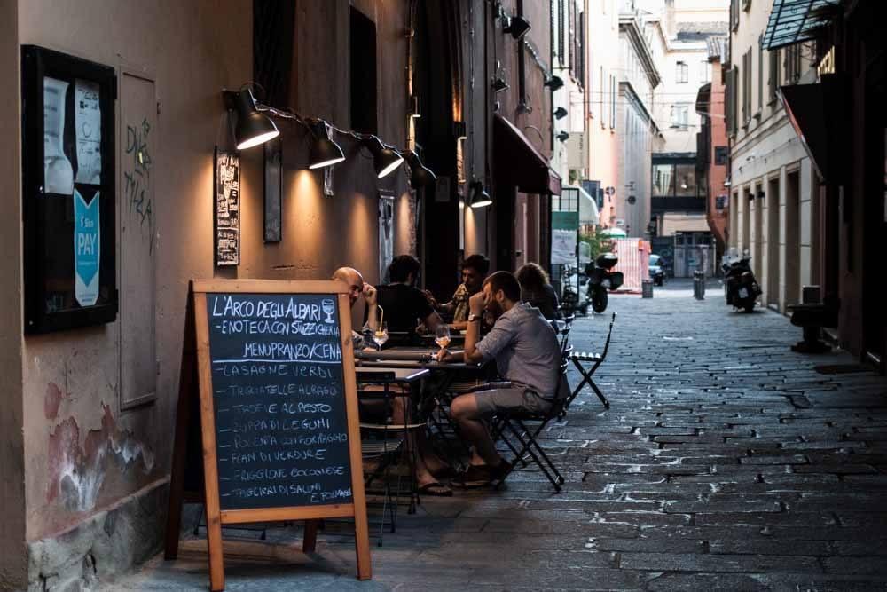L'Arco degli Albari in Bologna Italy