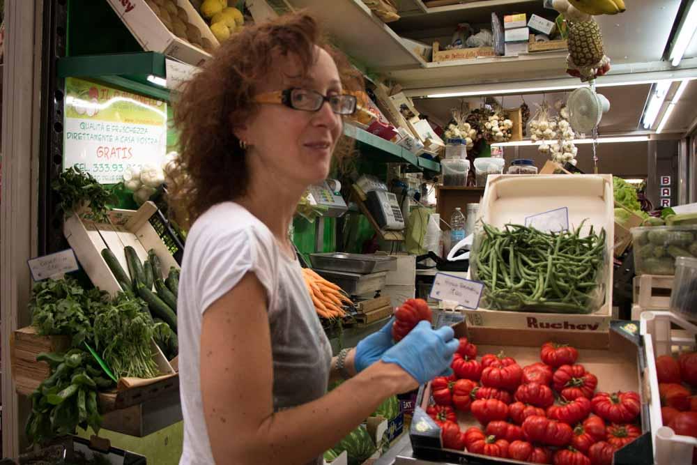 Mercato delle Erbe in Bologna Italy