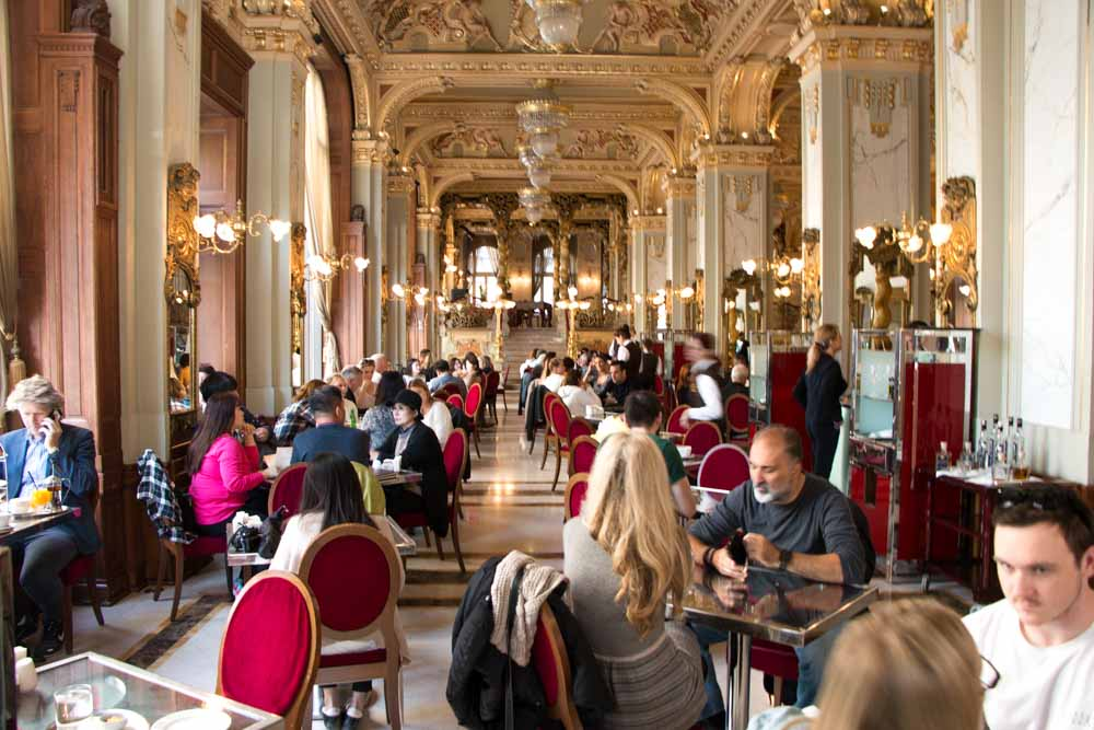 New York Cafe in Budapest Hungary