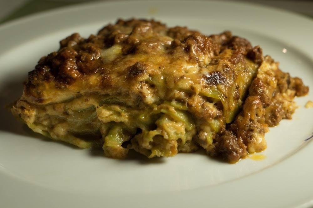 Osteria al 15 - Lasagna Verde Bolognese - Bologna Food Guide