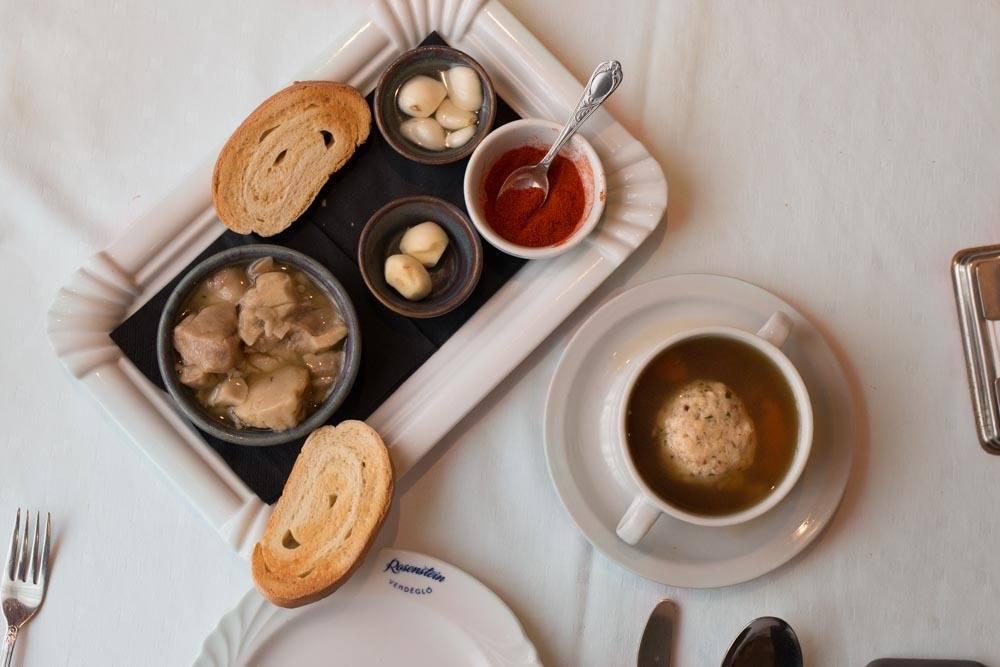 Rosenstein Starters - Budapest Restaurants