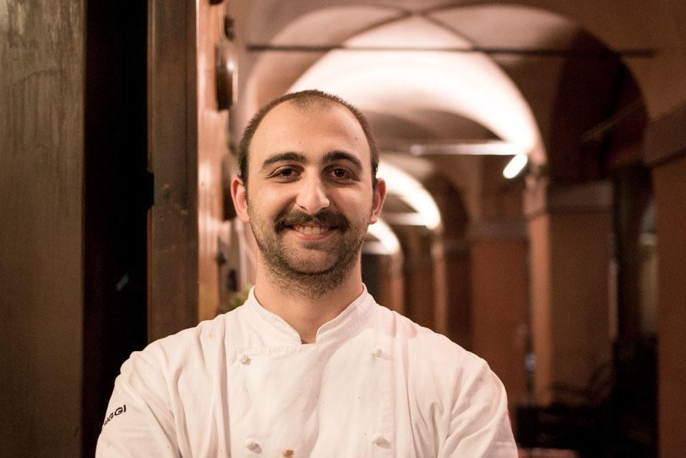 Sette Tavoli Sous Chef Mattia Eletto in Bologna Italy