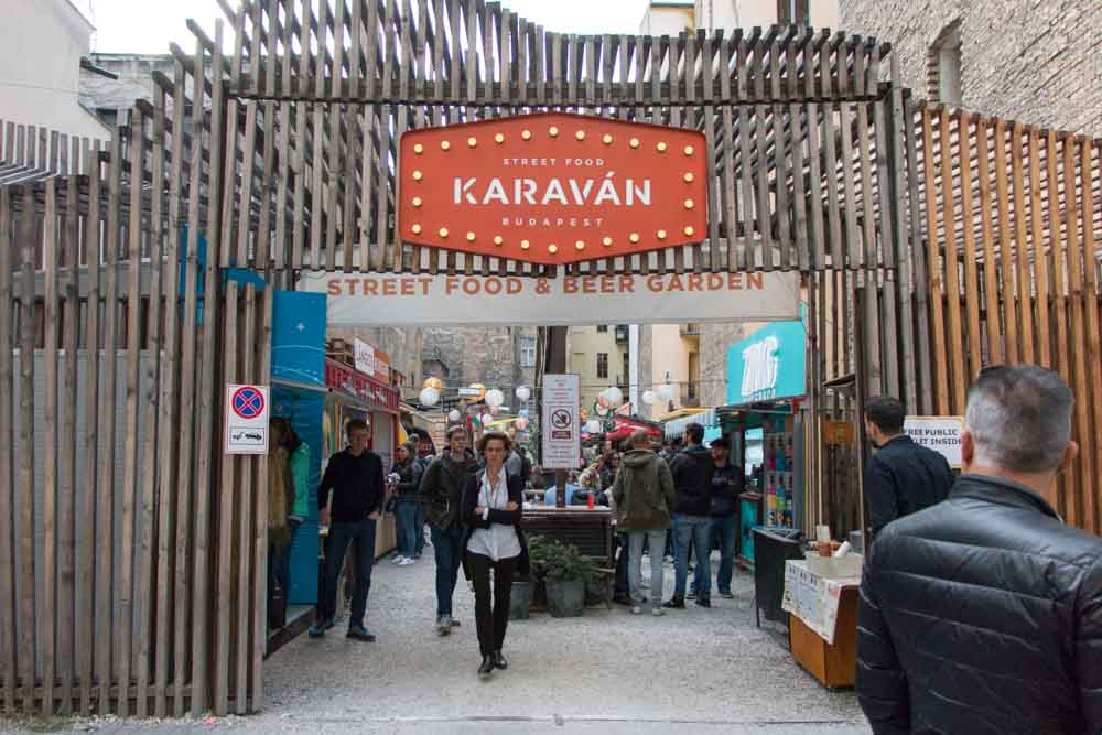 Street Food Karavan in Budapest Hungary