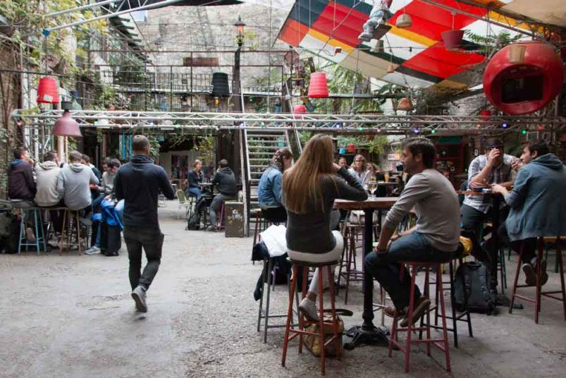 Szimpla Kert Courtyard - Budapest Ruin Bars and Beyond