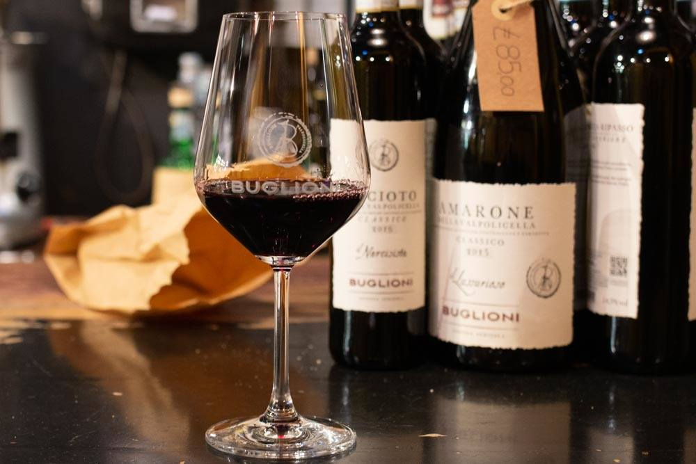 Wine at Agricola Buglioni in Verona
