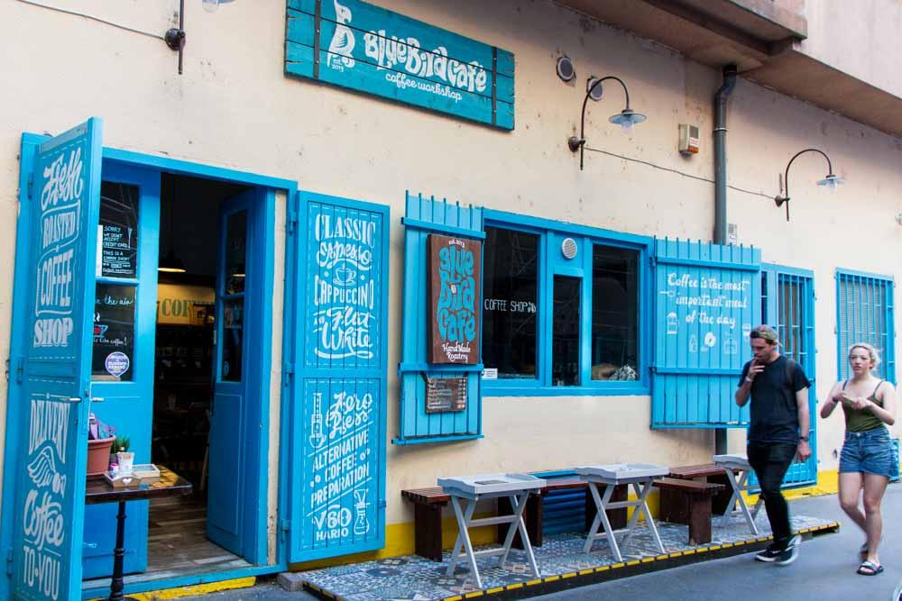 Budapest Cafes - Blue Bird Cafe