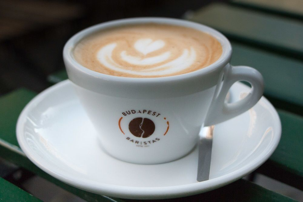 Budapest Cafes - Cappuccino at Budapest Baristas