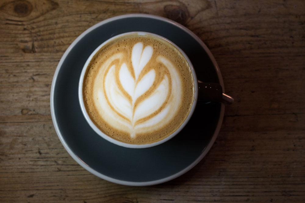 Budapest Cafes - Cappuccino at Fekete