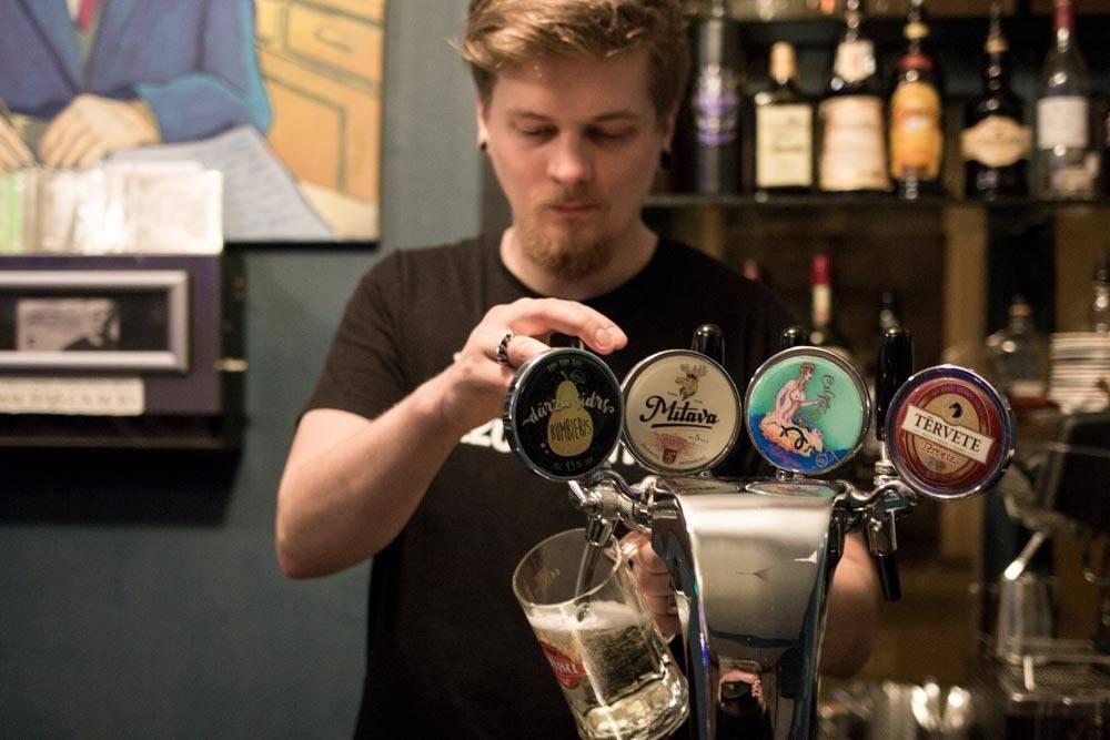 Krogs Aptieka Bartender in Riga Latvia