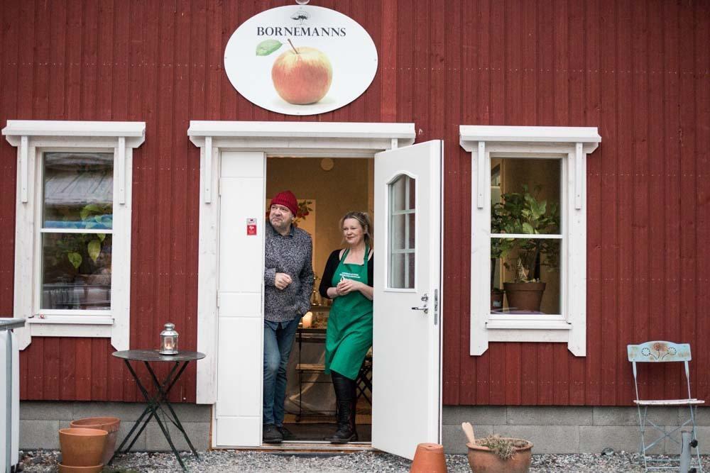 Bornemanns Musteri in the Finnish Archipelago