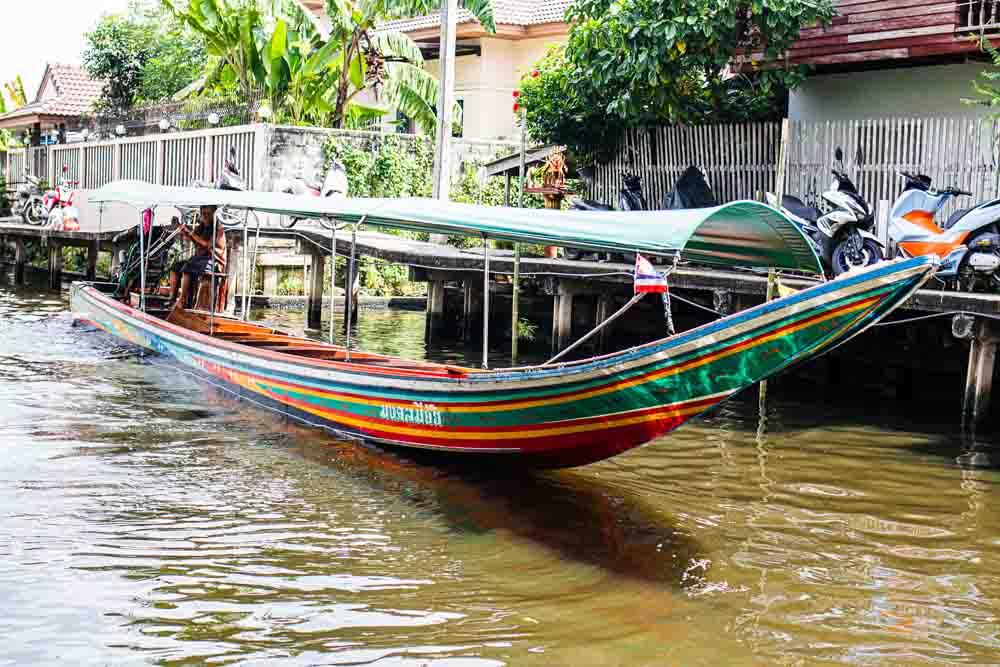 Khlong Lad Mayom Floating Market in Bangkok