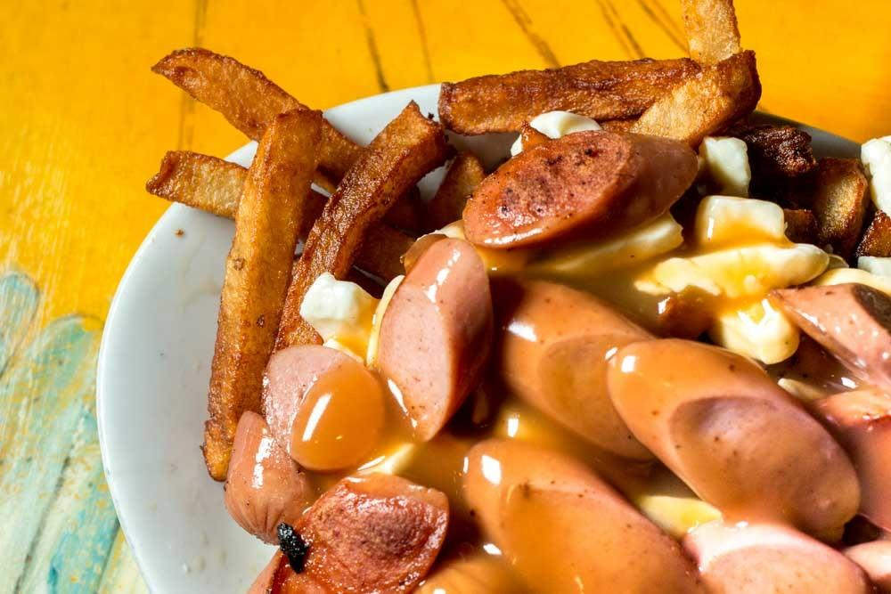Poutine at La Banquise in Montreal Canada