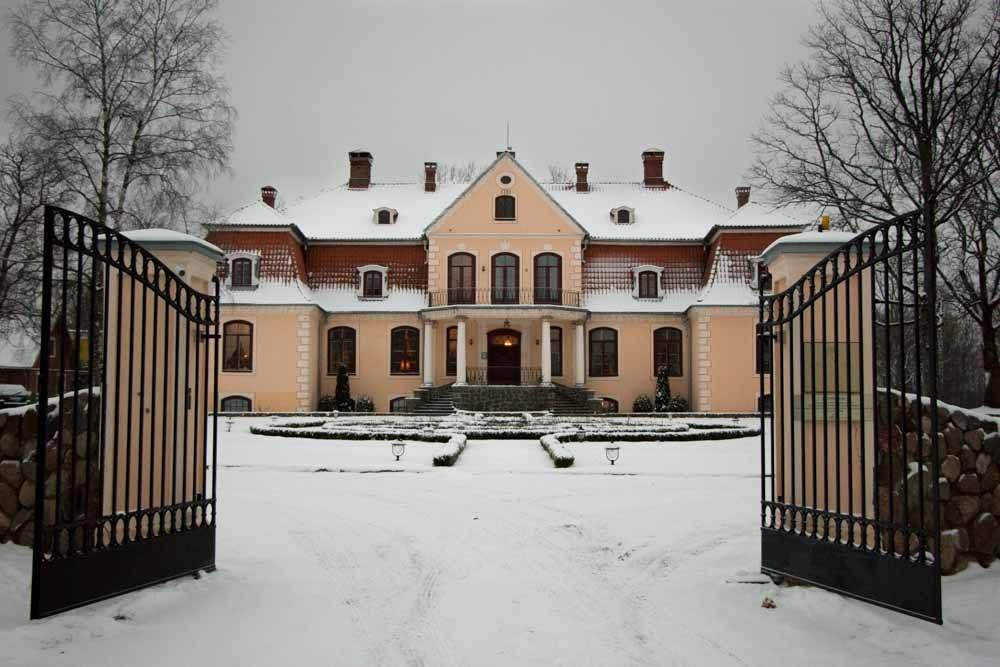 Liepupe Manor in Latvia
