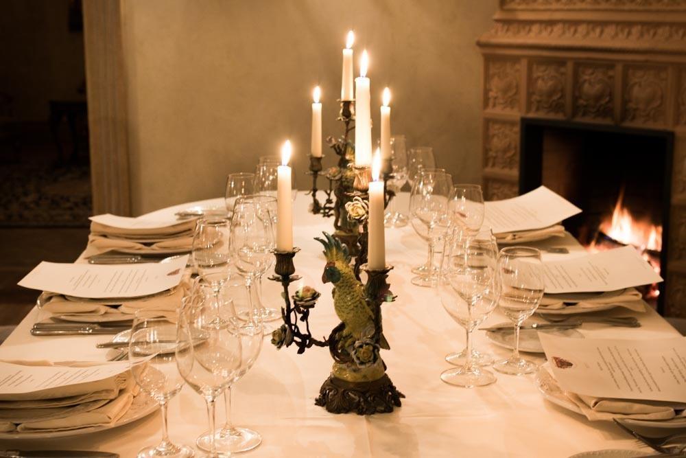 Liepupe Manor Dining Room
