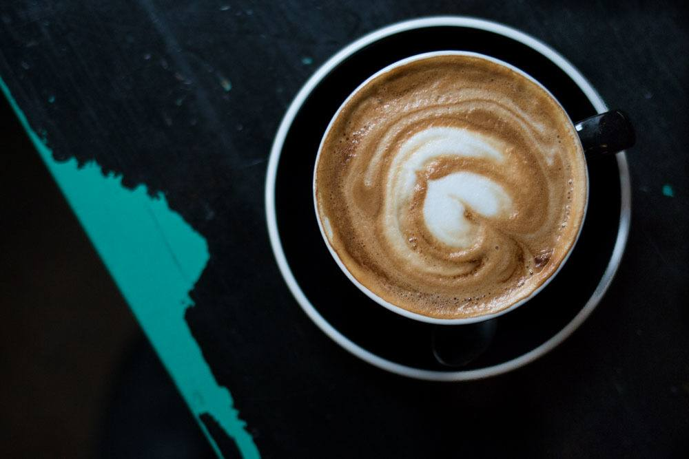 Cappuccino at MiiT Coffee - Riga Restaurants