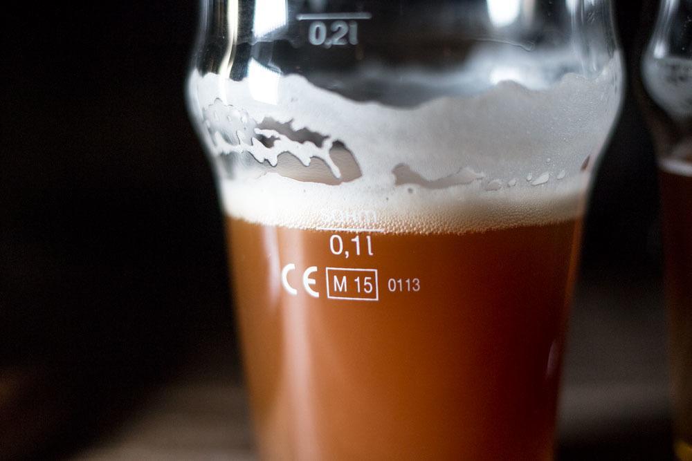 Beer at Panimoravintola Koulu in Turku Finland