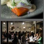 Pinterest image: four images of Turku with caption reading 'What to Eat in Turku'