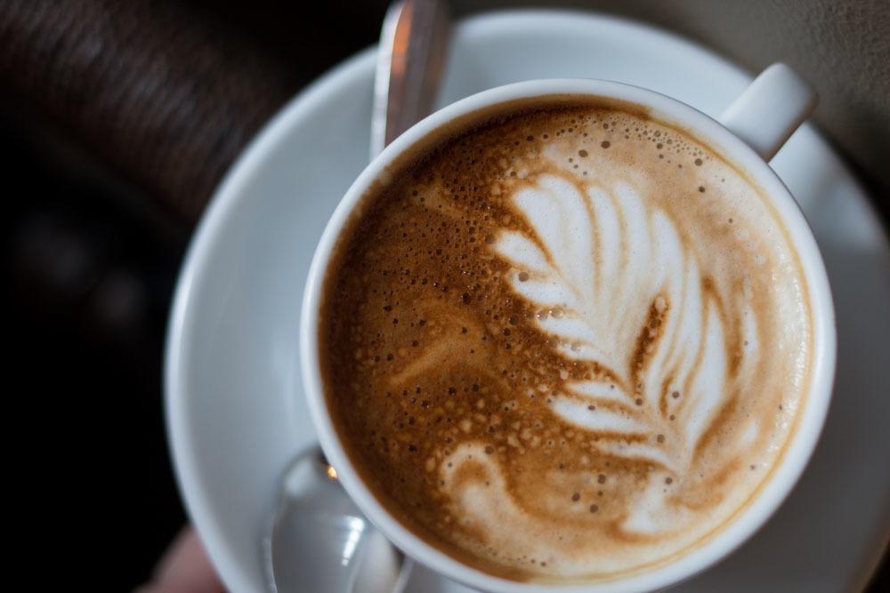 Rocket Bean Roastery Cappuccino - Riga Restaurants