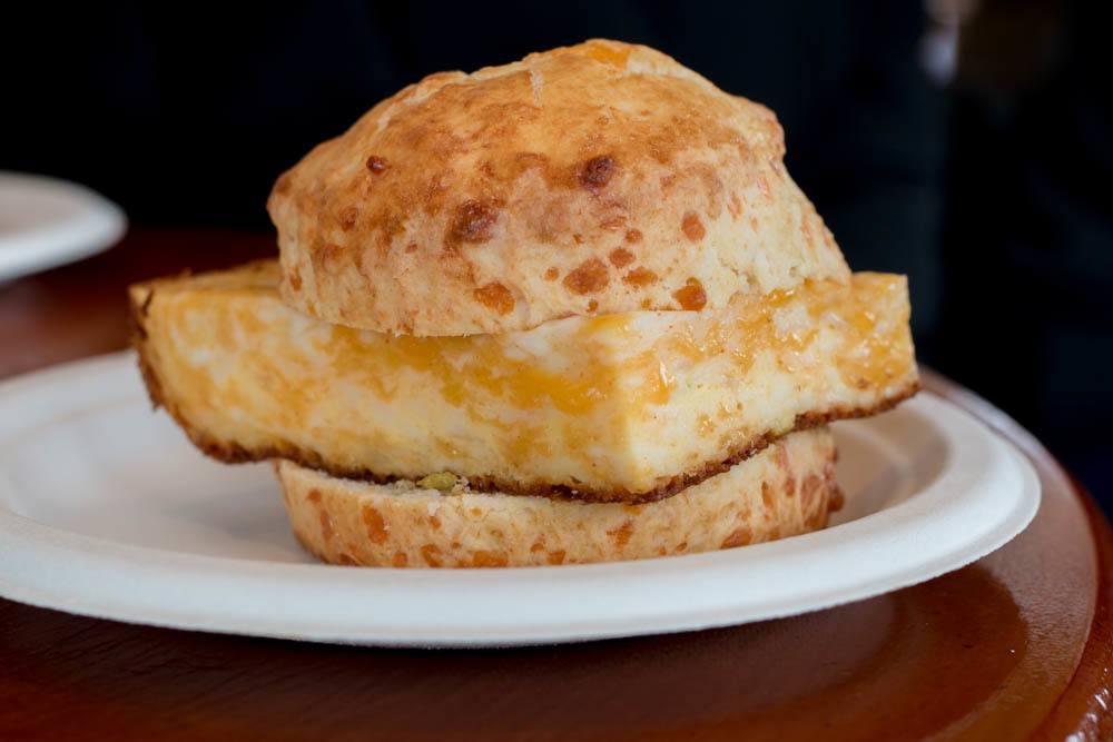 Breakfast Sandwich at Sweet 16th - Fun Places to Eat in Nashville Tennessee