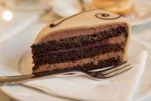 Cake at Mysak in Prague