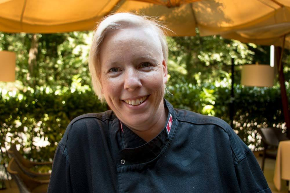 Chef Priska Thuring at Dubravkin Put - Zagreb Restaurants