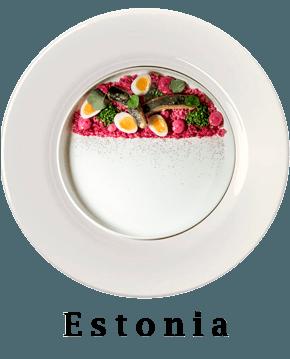 Estonia Plate