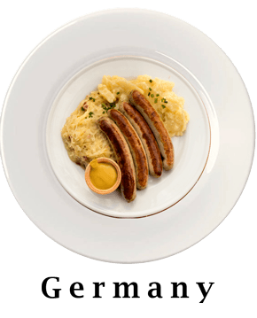 Germany Plate