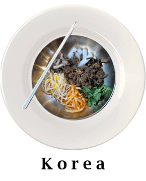Korea Plate