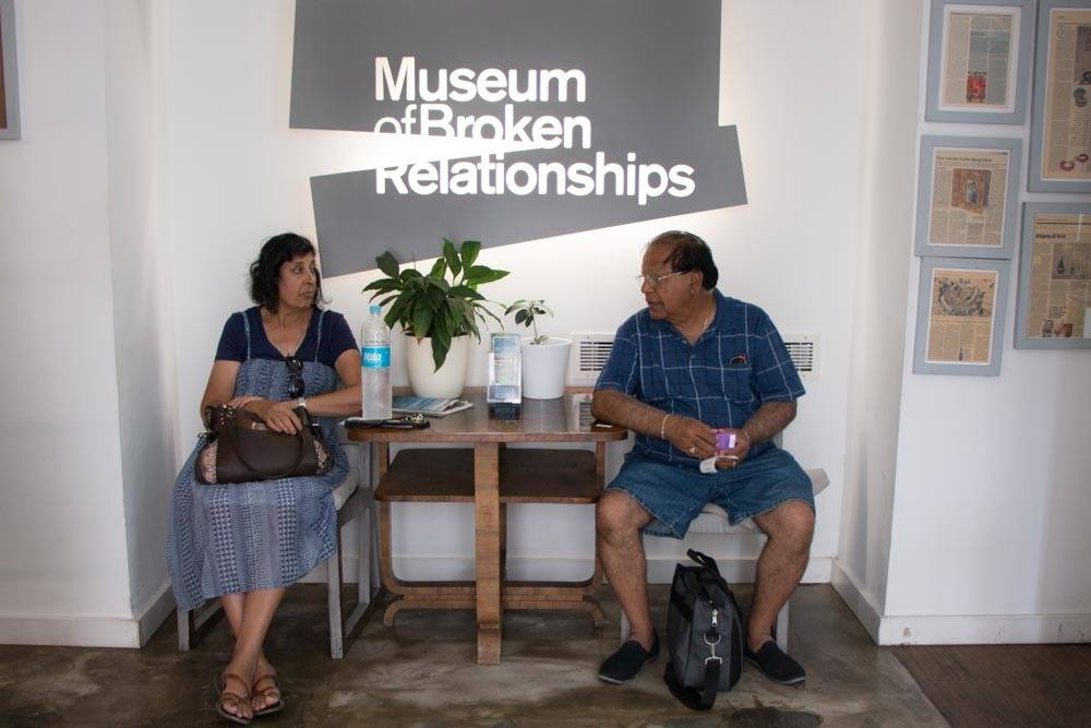 Museum of Broken Relationships in Zagreb Croatia