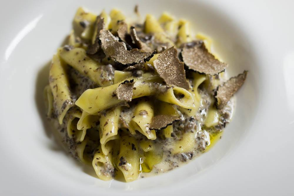 Fuzi with Truffles at Trilogija in Zagreb Croatia