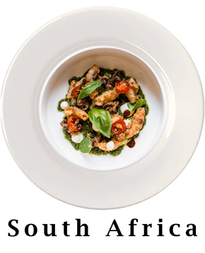 South Africa Plate