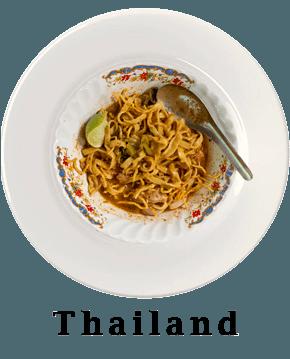 Thailand Plate