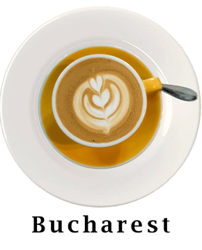 Bucharest Coffee Plate