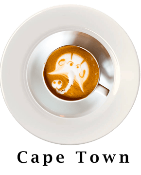 Cape Town Coffee Plate