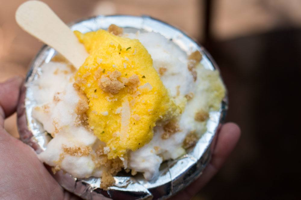 Doulat Ki Chaat in Old Delhi India