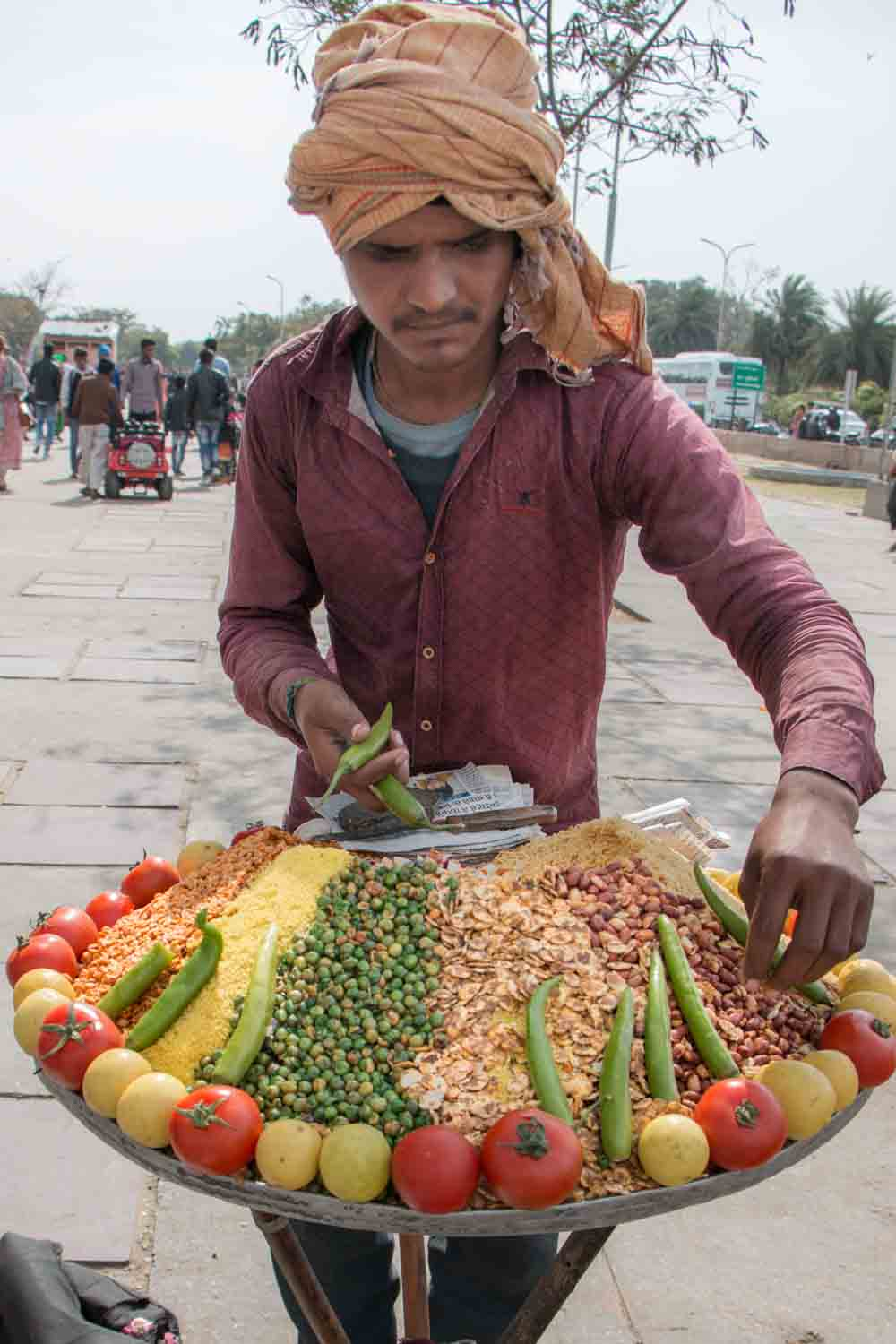 Indian Street Food Vendor